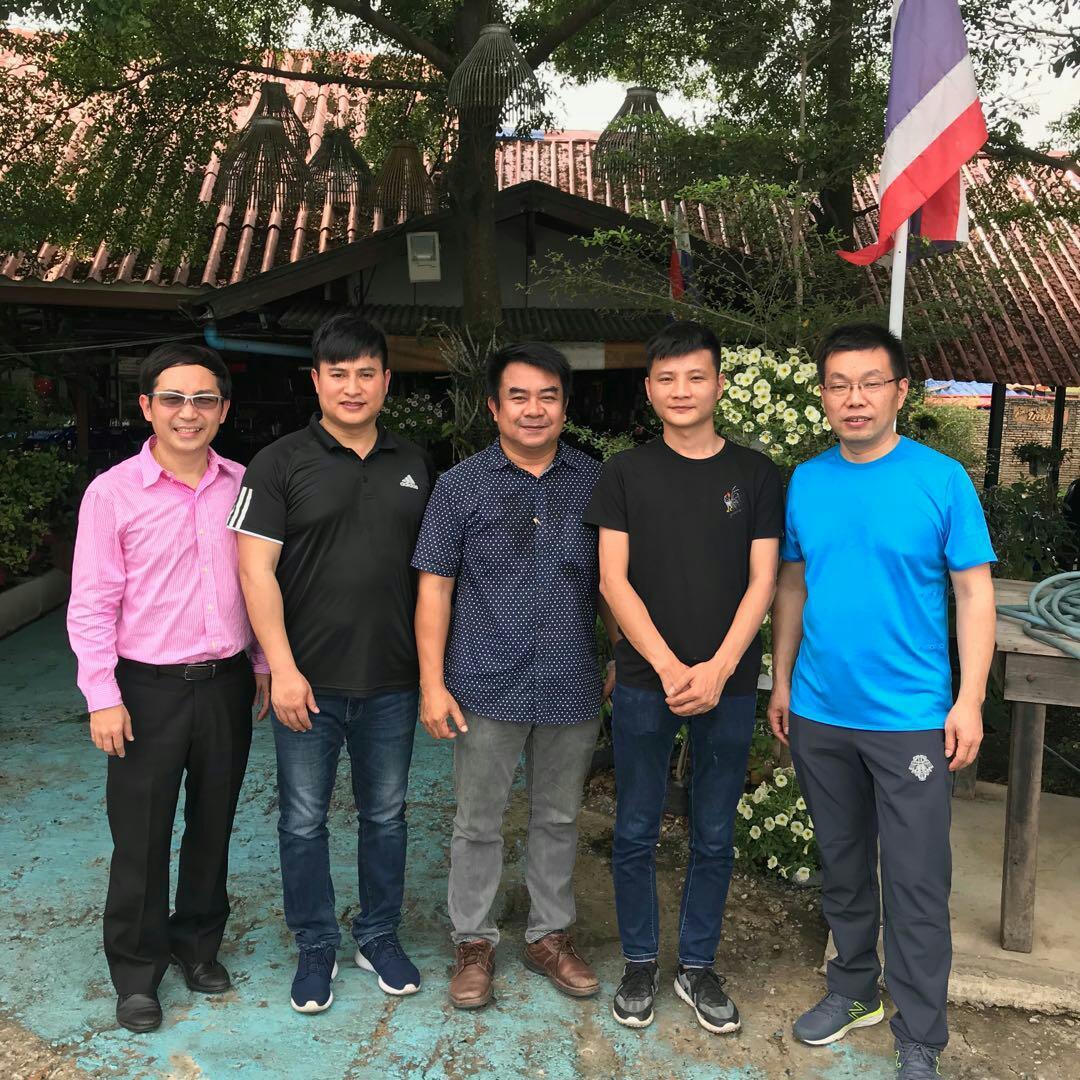 Business visit in Thailand