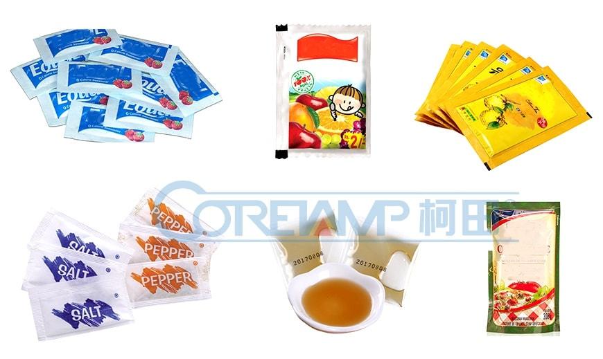 3/4 Side Seal Liquid Packaging Machine LD-240L
