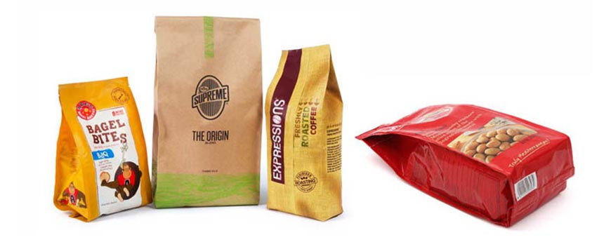 Quad Seal Bag Packaging Machines ZVB-420/ZVB-520/ZVB-700
