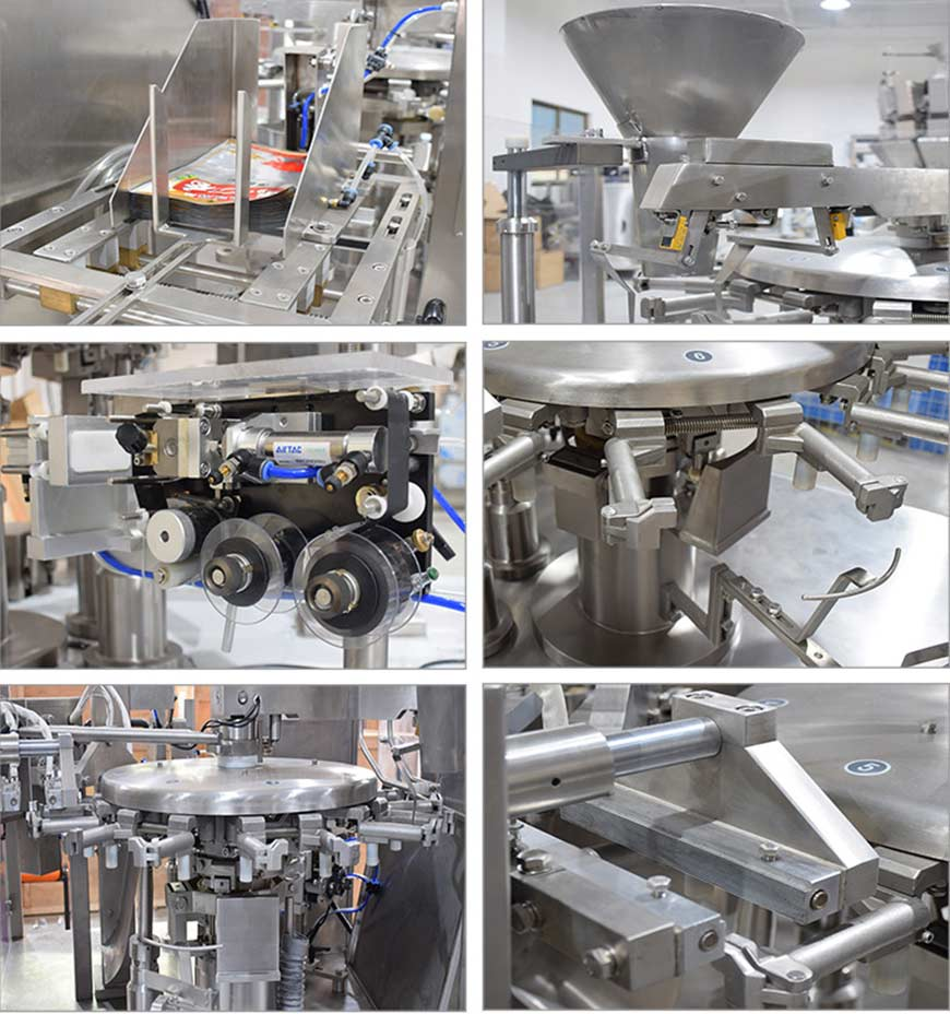 Rotary Type Pouch Packing Machine