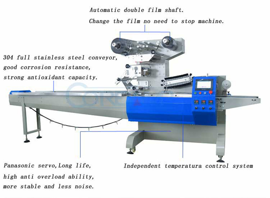 High Speed Servo Packaging Machine