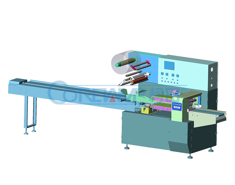 Heat Shrinkable Film Pillow Packaging Machine