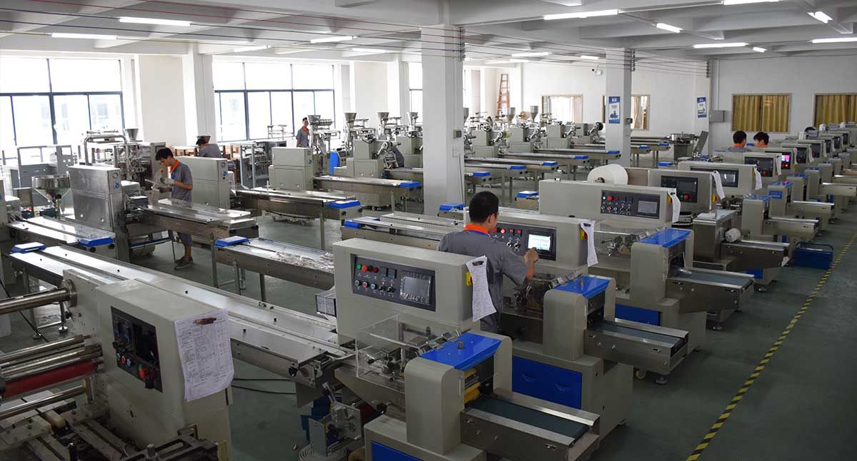 Flow Wrap Machine Factory