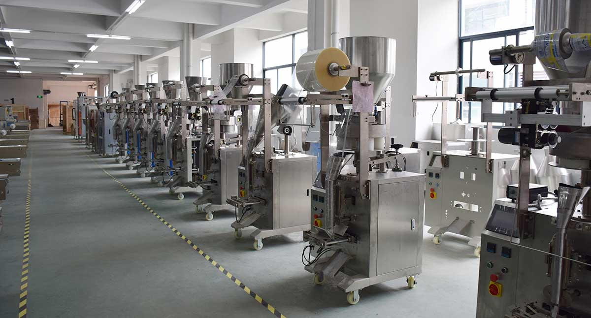 Vertical Form Fill Seal Machine Factory