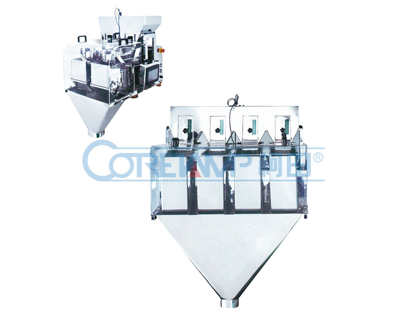 Liner Weigher Balance with Four Hopper