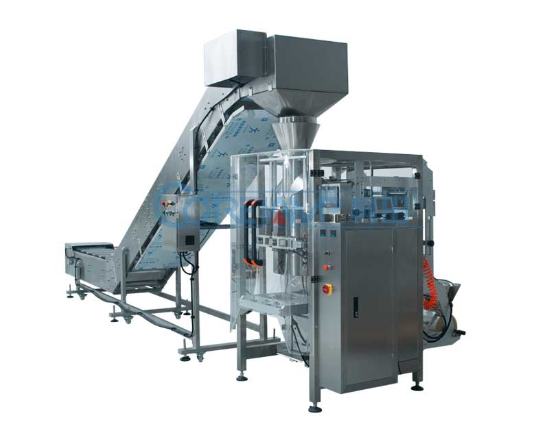 Semi-Automatic Packaging Machine Combined With Chain LD-420B/520B/720B