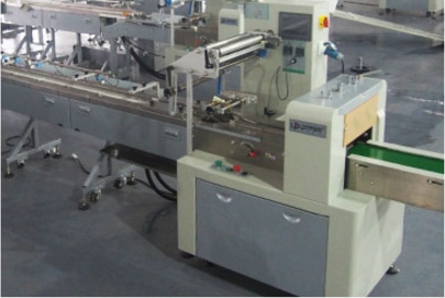 High-Speed Disk Material Packing Line