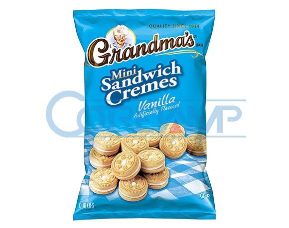 Mini biscuit packaging