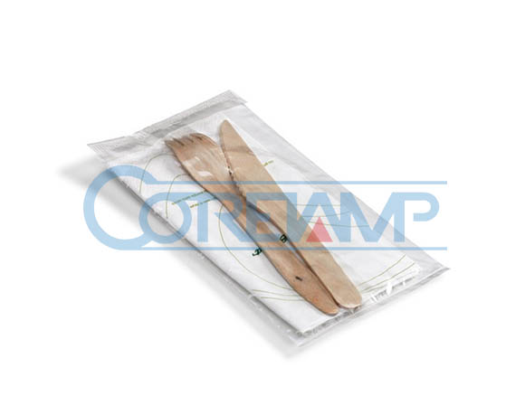 Cutlery set packaging