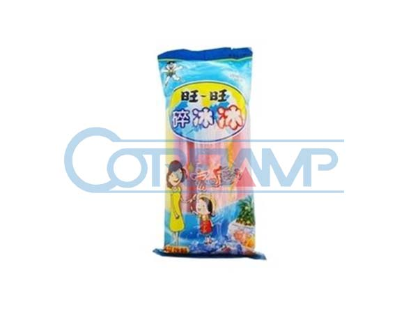 Packet ice lolly packaging