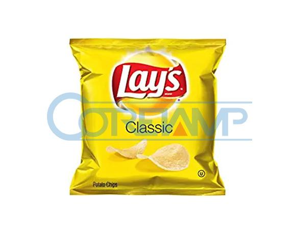 Fully automatic potato/banana/plantain chips packaging
