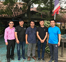 Business visit in Thailand