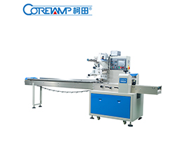 How to install the film of Coretamp flow wrap machine
