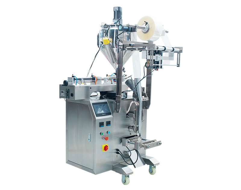 10ml~750ml Liquid Pouch / Sachet Packaging Machine ZV-320L