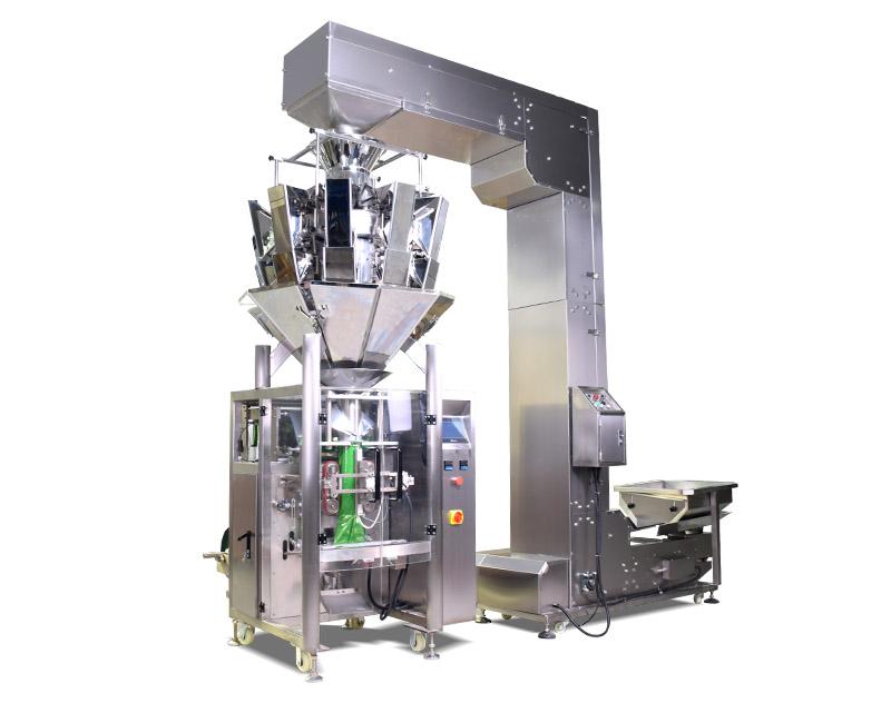 Multihead Weigher Granule Weighing and Packaging Machine