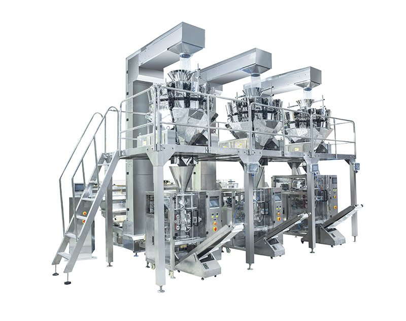 Chips,Popcorn,Dried Fruit Packing System