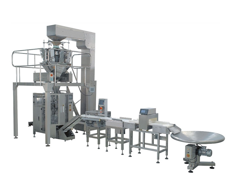 Full Automatic Packaging Machine With Select And Detector Combined With Computer Combination Weigher