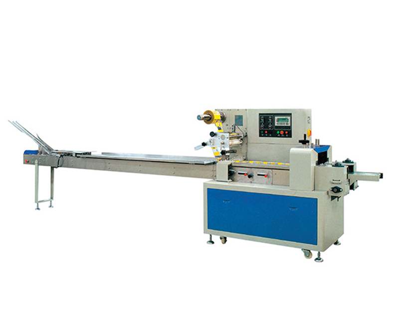 Single Row On-Edge Biscuit Packing Machines with Auto Feeder