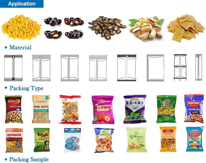 20g~500g Grain Packaging Machines ZV-320A/380A