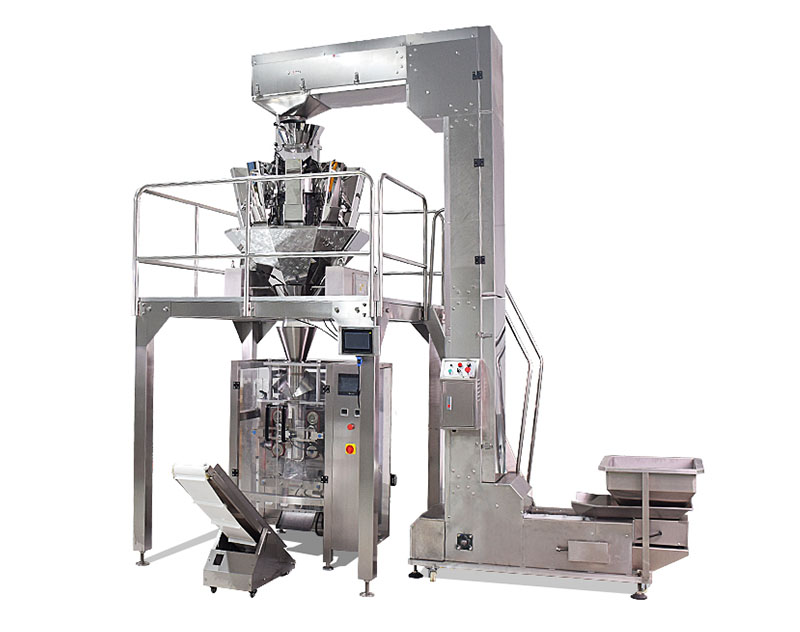 VFFS Automatic Weighing Packing Machine with Multihead Weigher