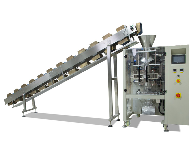 Semi-automatic Packaging Machine With Chain Bucket