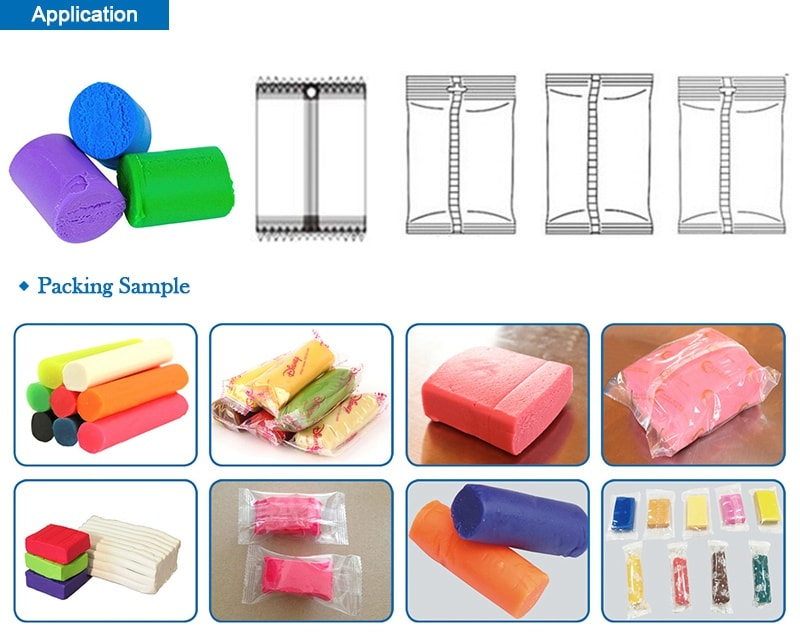 Modelling Clay, Play Dough Packing Machine