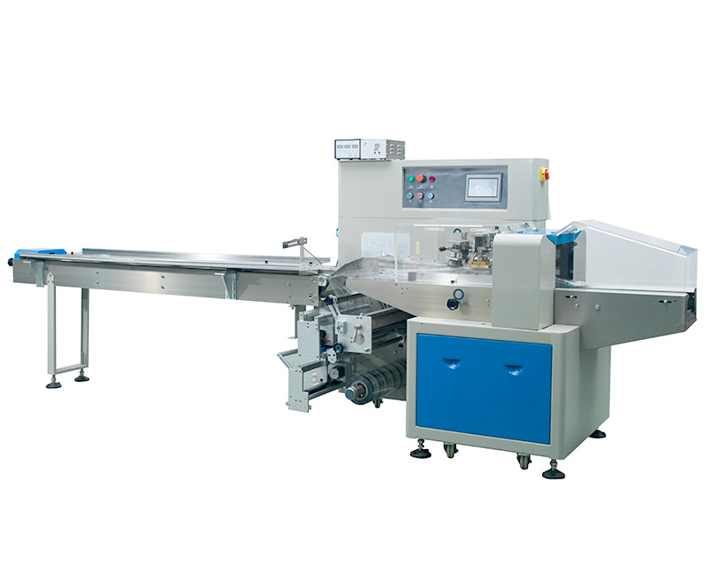 Horizontal Flow Wrap Machine KT-250X/KT-350X/KT-450X/KT-600X/KT-700X