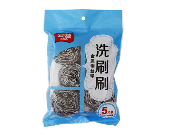 Pot scourer packaging