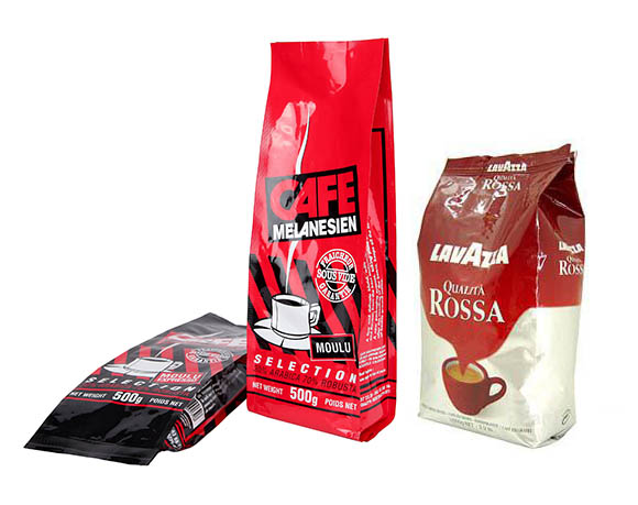 Stand up bag coffee powder packaging