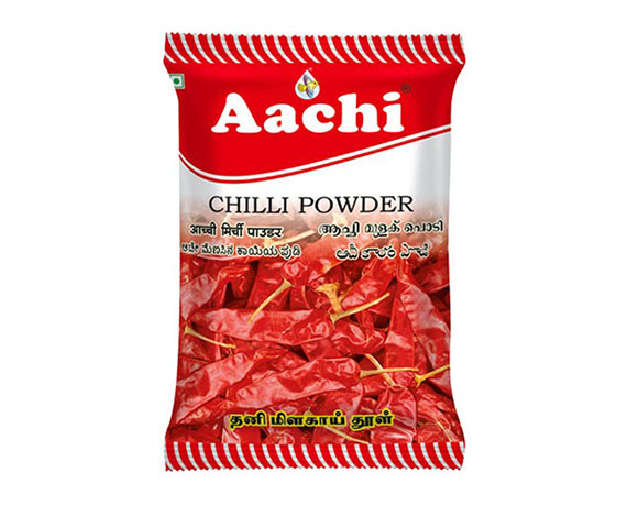 Chilli powder packaging