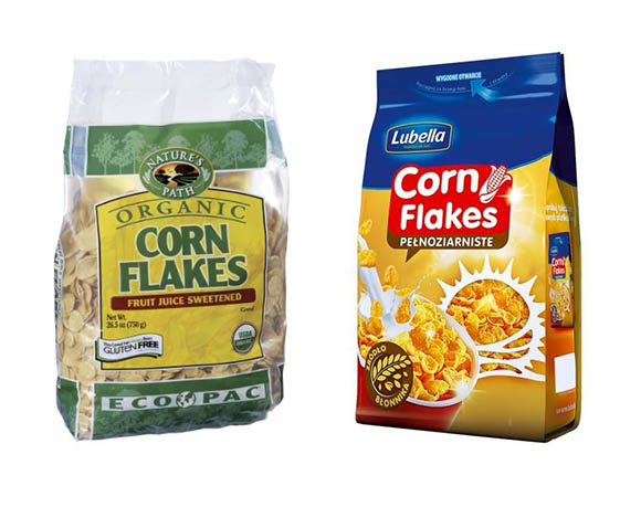 Corn grain packaging