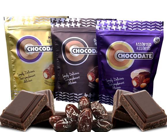Chocolate bag packaging