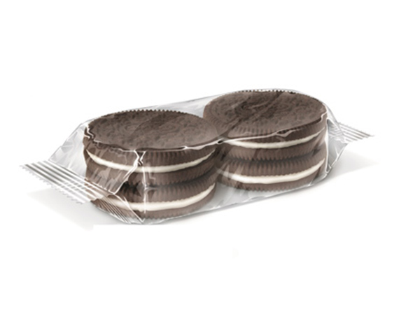Stacked biscuit packaging