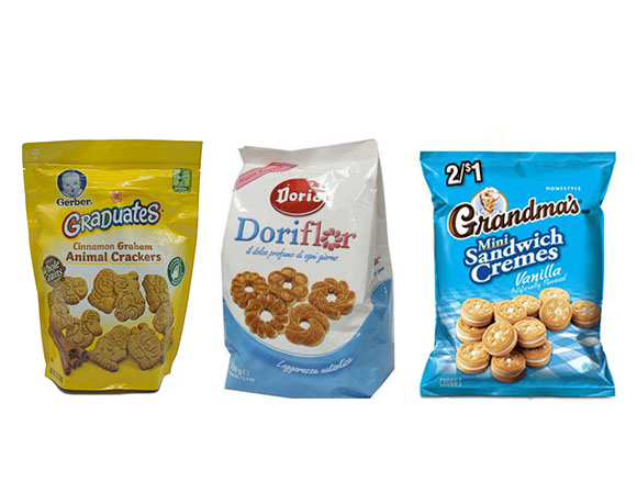 Cookies bag packaging