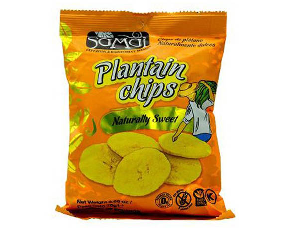 Plantain chips packaging