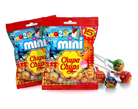 Lollipop packet packaging
