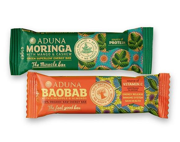 Granola bar / energy bar packaging