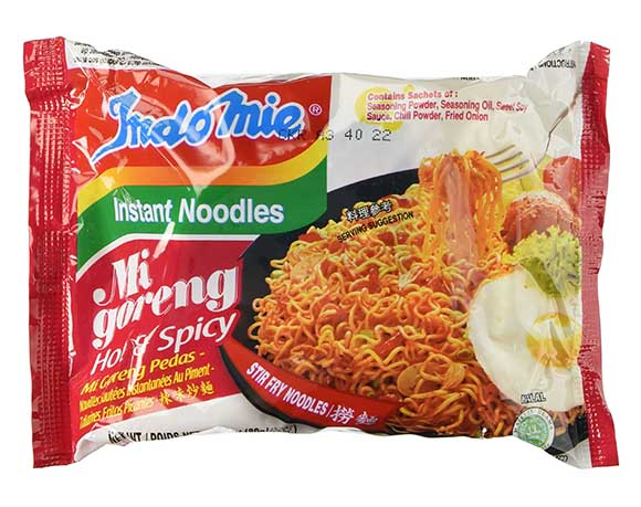 Instant noodles packaging