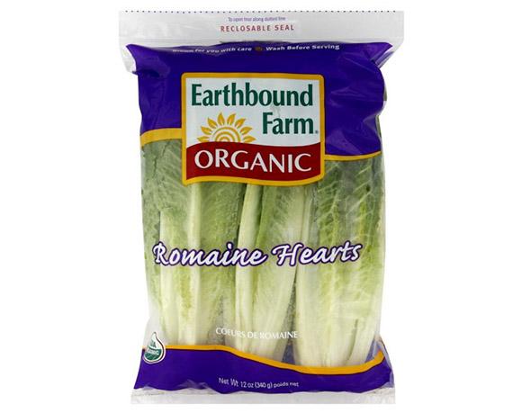Lettuce packaging