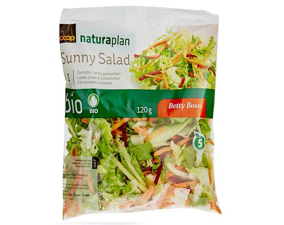 Vegetable salad packaging