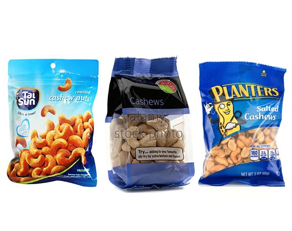 Cashew nut packaging