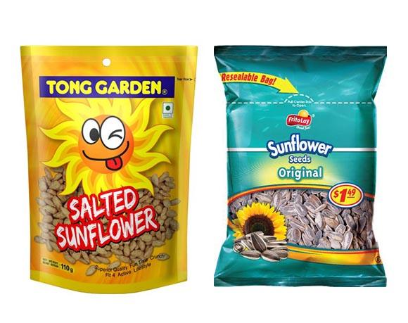 Sunflower seed packaging
