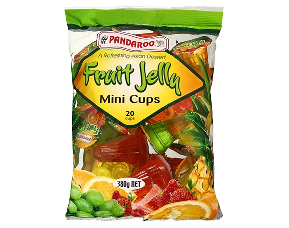 Mini jelly cup packaging
