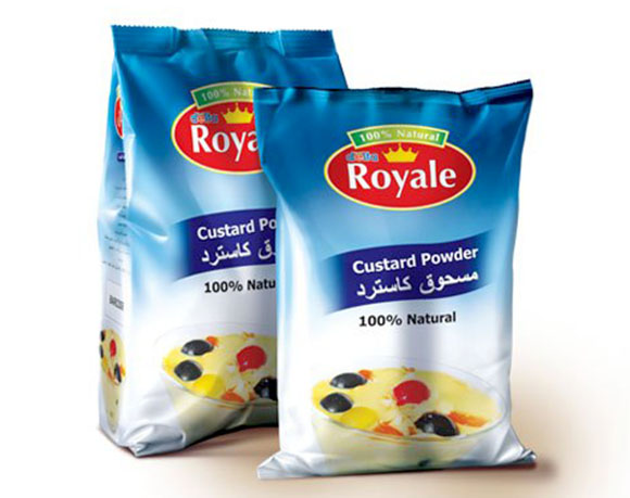 Custard powder packaging