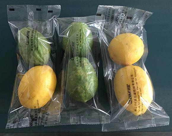 Lemon packaging