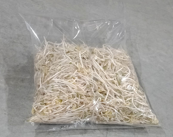 Bean sprout bag packaging