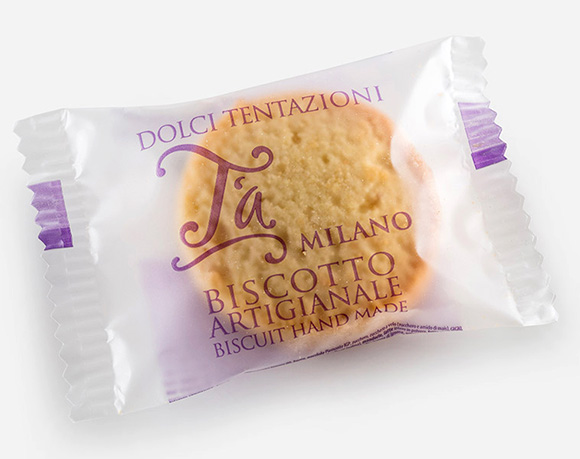 Single cookies packaging