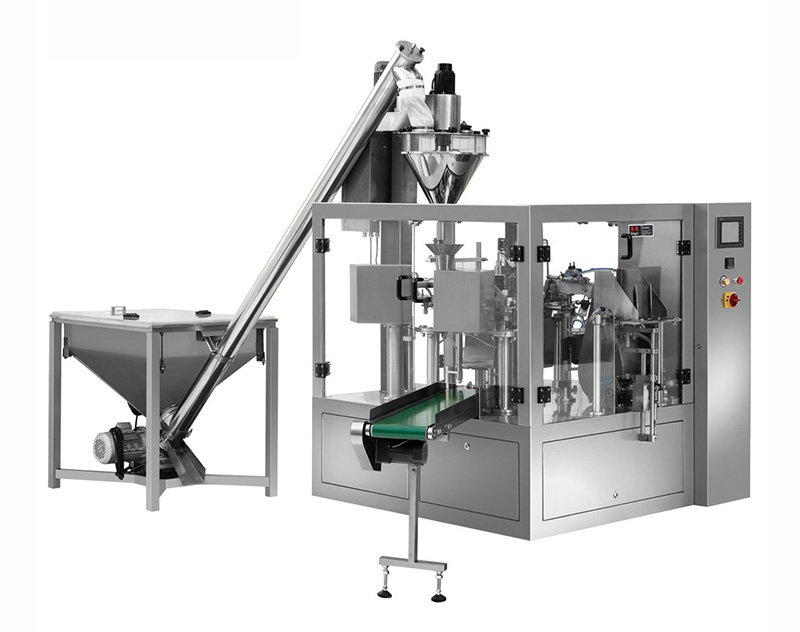 Powder Premade Pouch Doypack Packing Machine