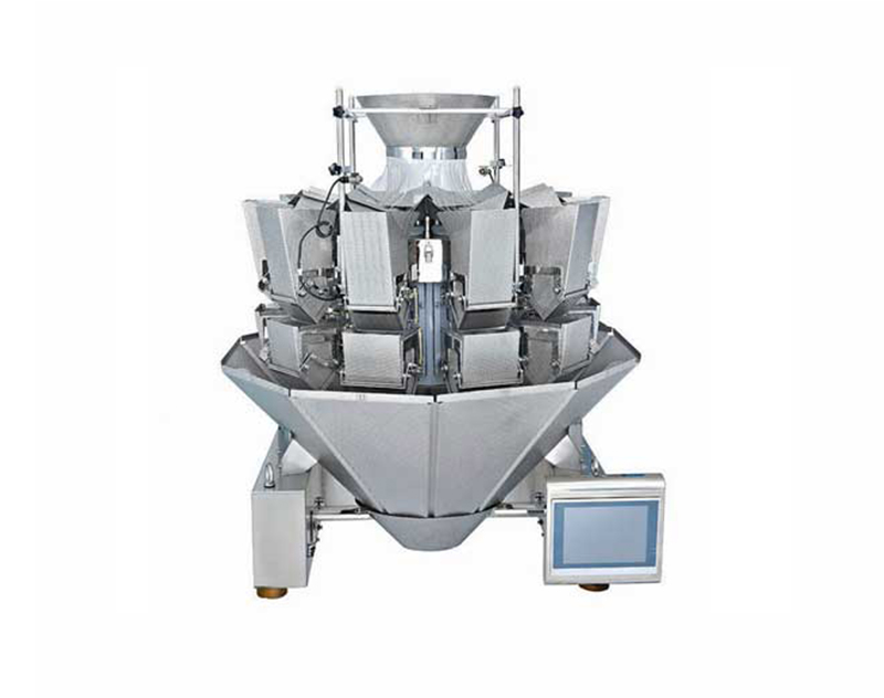 Multihead Weigher For Sticky Food