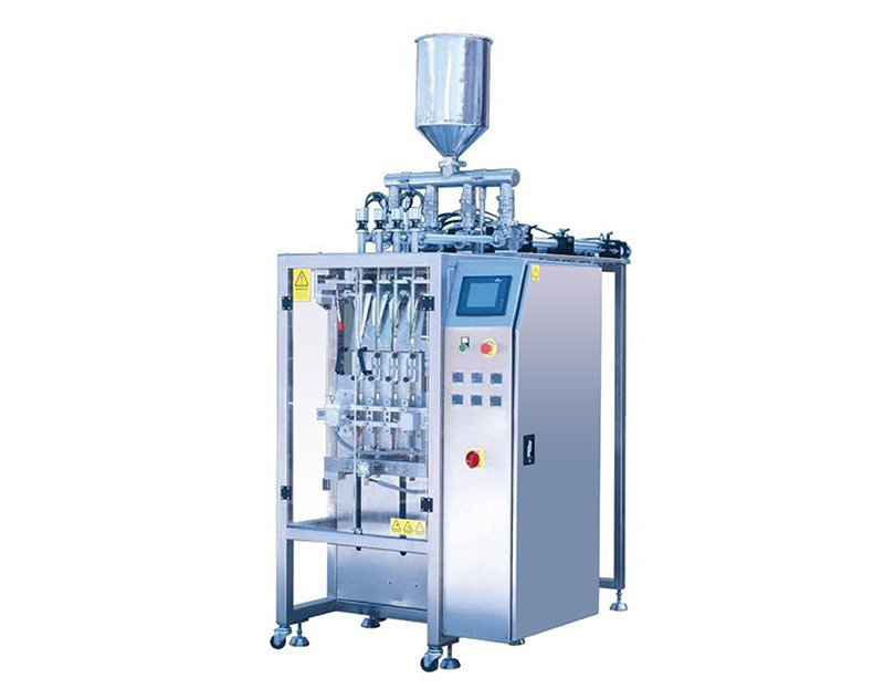 Multi Lane Liquid Stick Filling Packing Machine